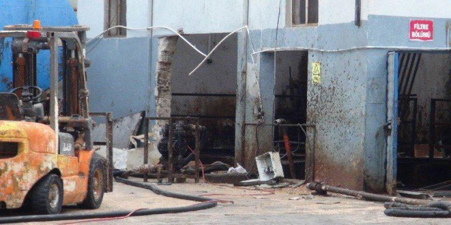 Tekirdağ'da Yağ Fabrikasında Patlama: 1 Ölü, 1 Yaralı