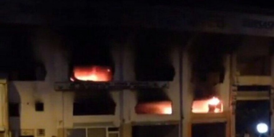 Bursa Atatürk Stadyumu'nda Yangın Paniği!