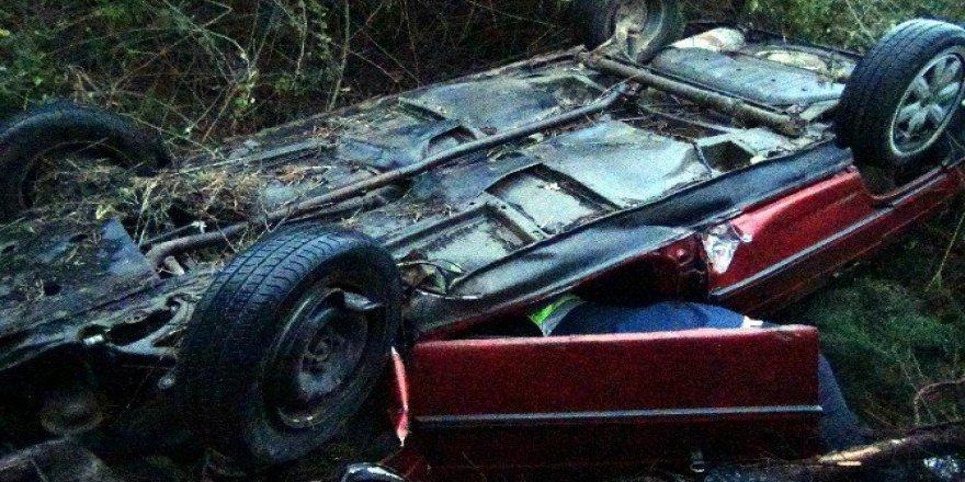 Tekirdağ'da Otomobil Şarampole Yuvarlandı: 1 Ölü, 5 Yaralı
