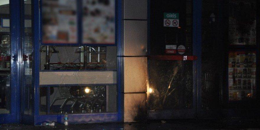 Kepez'de Markete Molotoflu ve Pompalı Tüfekli Saldırı!