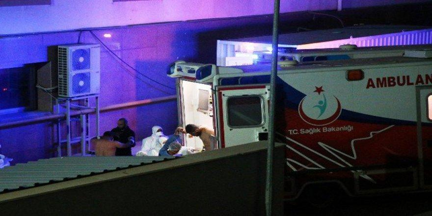 9 Suriyeli Kimyasal Şüphesiyle Gaziantep'e Getirildi ve...