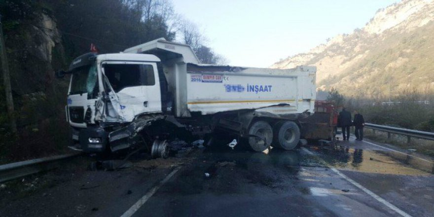 Karabük, Yenice'de Trafik Kazası: 2 Yaralı