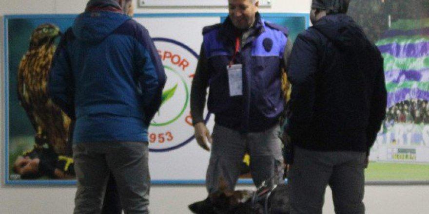 Maç Öncesi Fenerbahçe'nin Soyunma Odasında Bomba Araması