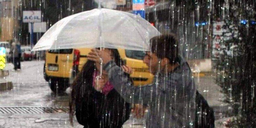 Aydın'da Pazartesi Günü Kuvvetli Sağanak Yağış Bekleniyor