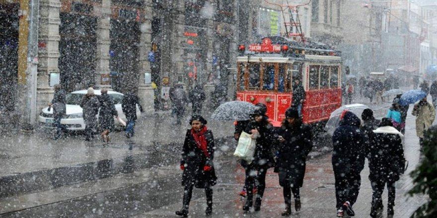 Meteoroloji Genel Müdürlüğü'nden İstanbul'da Kar Alarmı