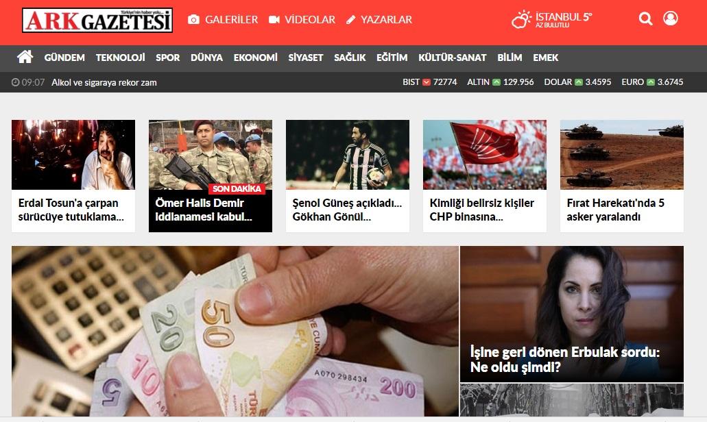 Bağımsız Medya'ya yeni ses : arkgazetesi.com Yayında