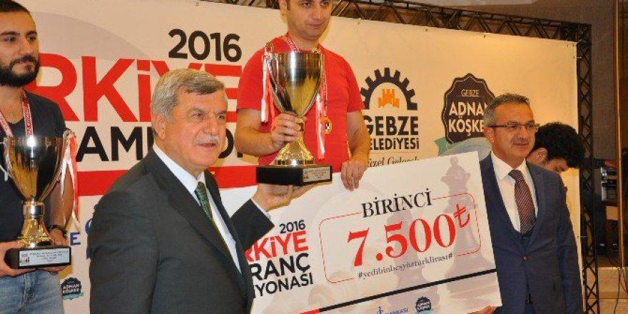 2016 Türkiye Satranç Şampiyonası Mert Erdoğdu