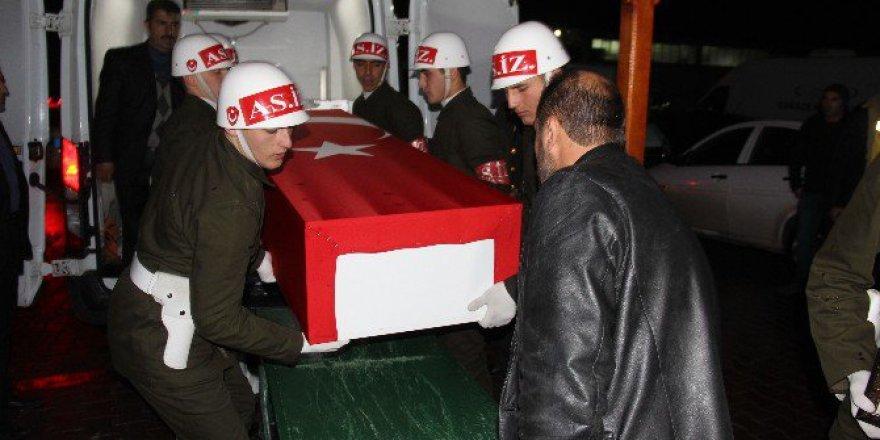 Şehit Servet Tokmak'ın Cenazesi, Bursa'dan Gaziantep'e Getirildi
