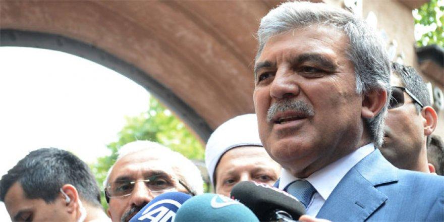 Abdullah Gül: ''Parti Nasıl Kurulur Bilirim''