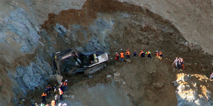 Siirt, Şirvan'daki Göçükte Bir İşçinin Daha Cenazesine Ulaşıldı