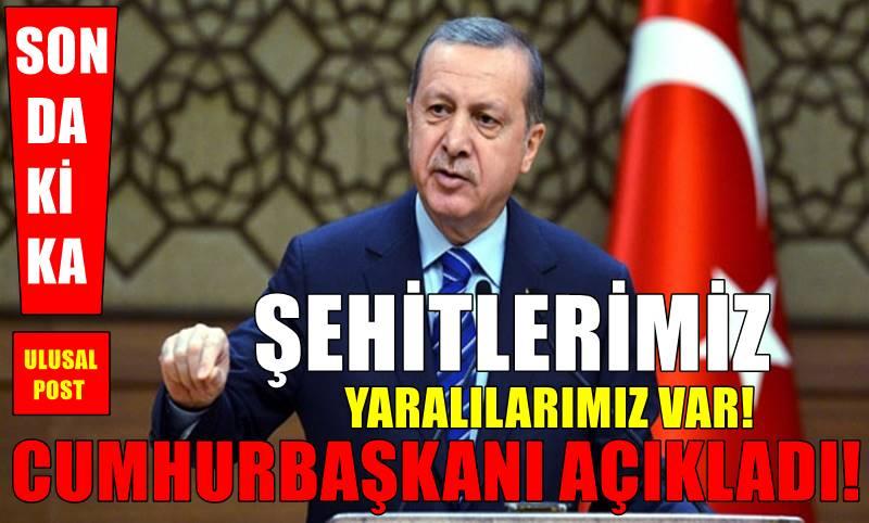 Cumhurbaşkanı Erdoğan'dan Saldırıya ilişkin Açıklama!