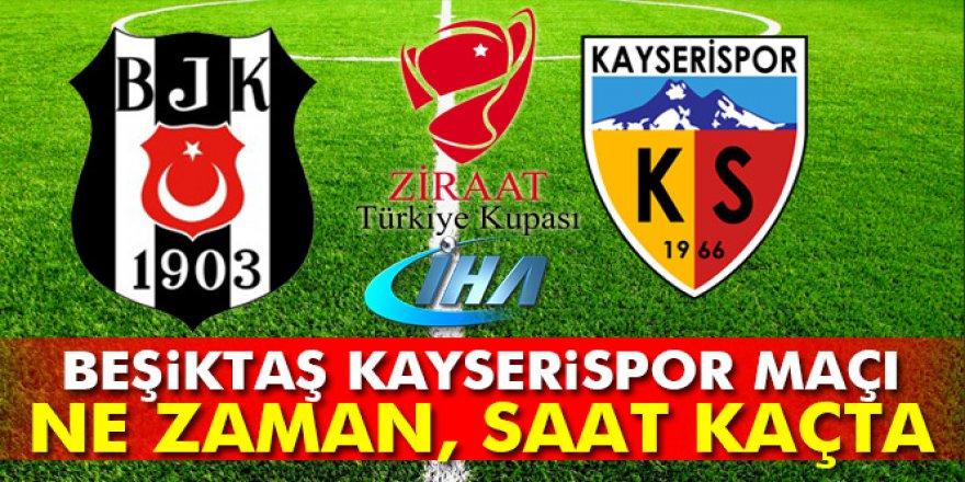 Beşiktaş-Kayserispor maçı ne zaman, saat kaçta, hangi kanalda?