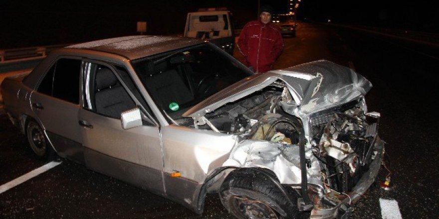 Almanya Dönüşü Trafik Kazası: 1 Ölü, 1 Yaralı