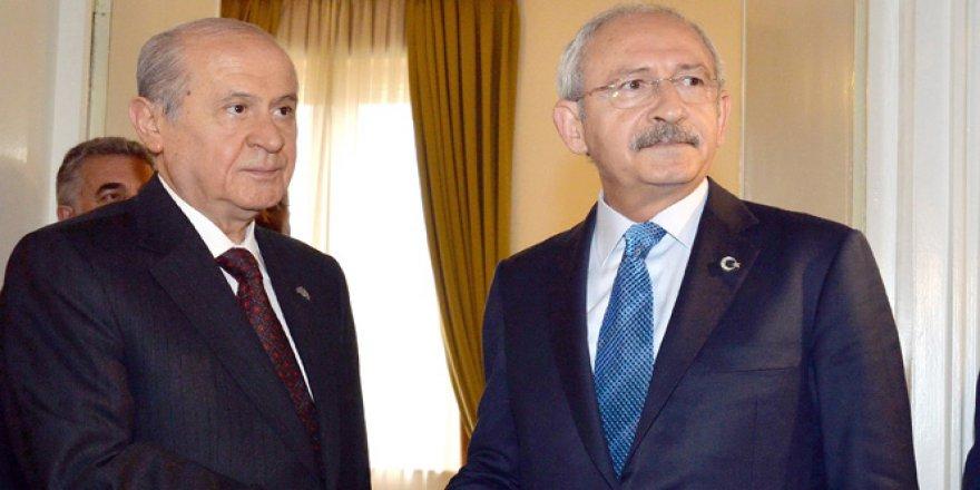 Devlet Bahçeli ve Kemal Kılıçdaroğlu arasında HDP gerilimi