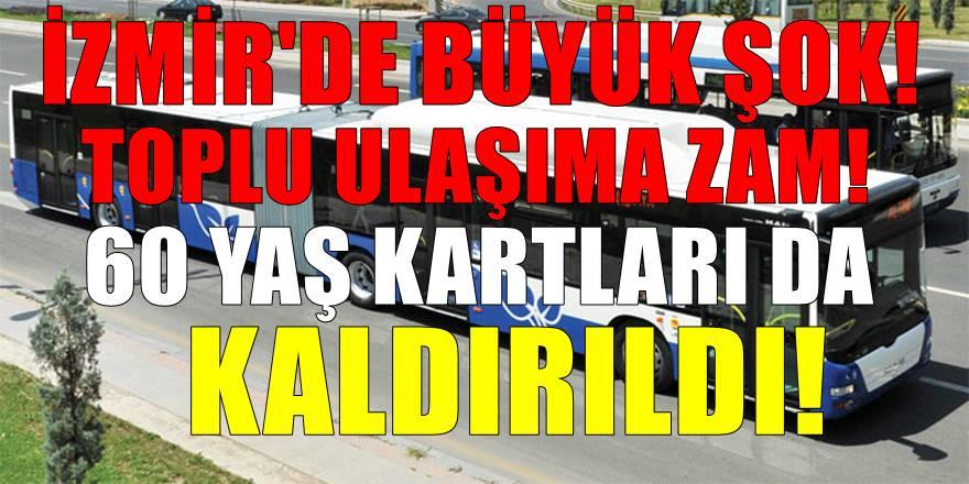 İzmirliler Yeni Yıla Toplu Ulaşıma Zamla Giriyor