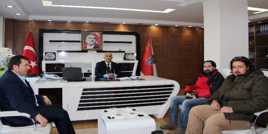 İha'dan Erzurum Emniyet Müdürü Mehmet Aslan'a Ziyaret
