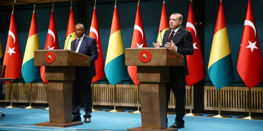 Cumhurbaşkanı Erdoğan'dan kararlılık mesajı