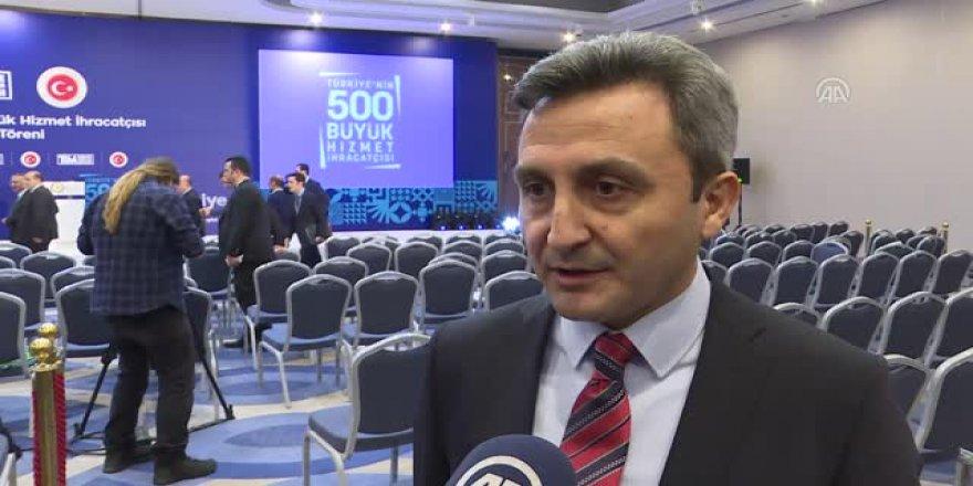 """TİM'den TÜRKSAT'a """"İletişim Hizmetleri"""" ödülü"""