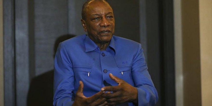 Gine Cumhurbaşkanı Conde' Aşırıcılığın İslam ile hiçbir ilgisi yok'