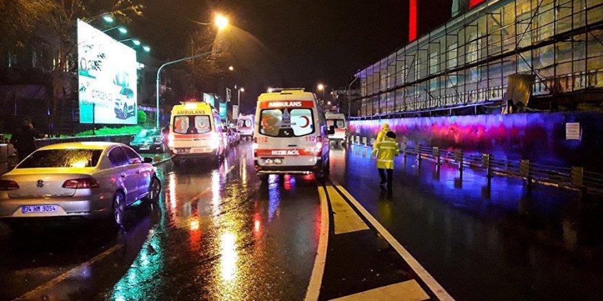 reina saldırısında yaralılar hastanelere götürüldü