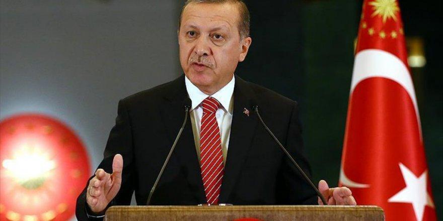 """Erdoğan'dan mesaj :  """"Tehditleri Kaynağında Yok Etme Konusunda Kararlıyız"""""""