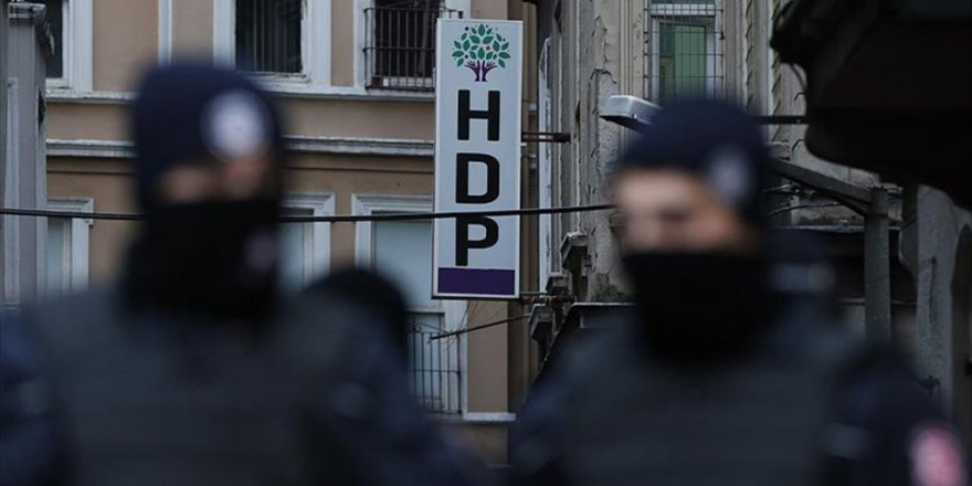 Bursa'da HDP'lilere terör gözaltısı