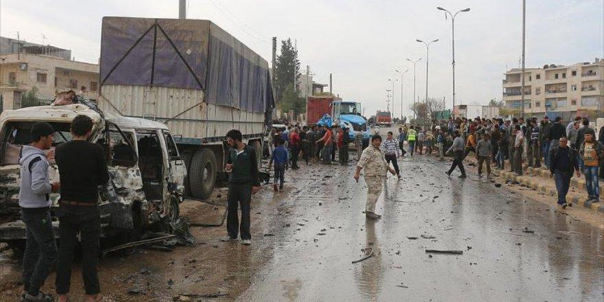 Suriye Azez'de Bomba Yüklü Araçla Saldırı
