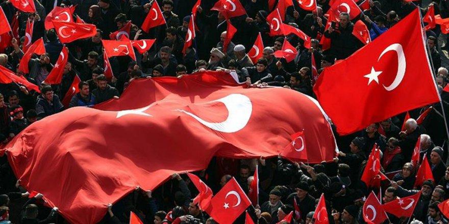 Malatya'da teröre karşı miting düzenlendi
