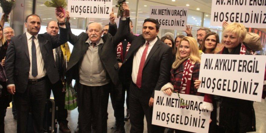 BAE'de Yargılanan Avukatlar 74 Gün Sonra Yurda Döndü