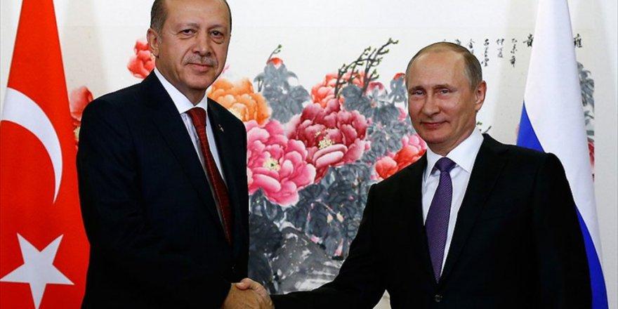 Cumhurbaşkanı Erdoğan ve Putin Suriye meselesini ele aldı