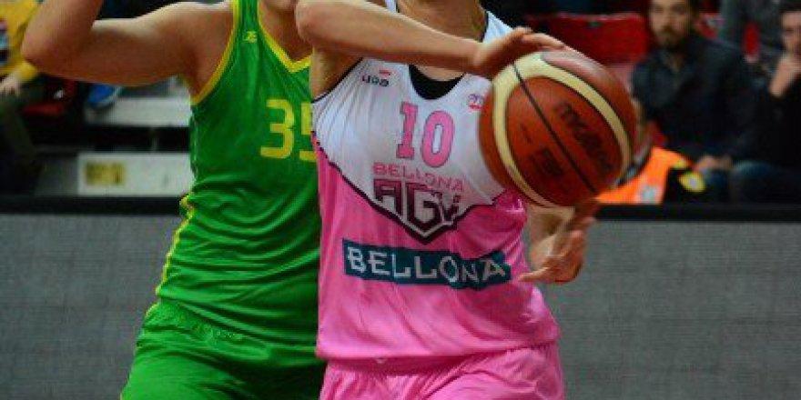 Bilyoner.com Kadınlar Basketbol Ligi: Bellona AGÜ Spor 77-66 İstanbul Üniversitesi