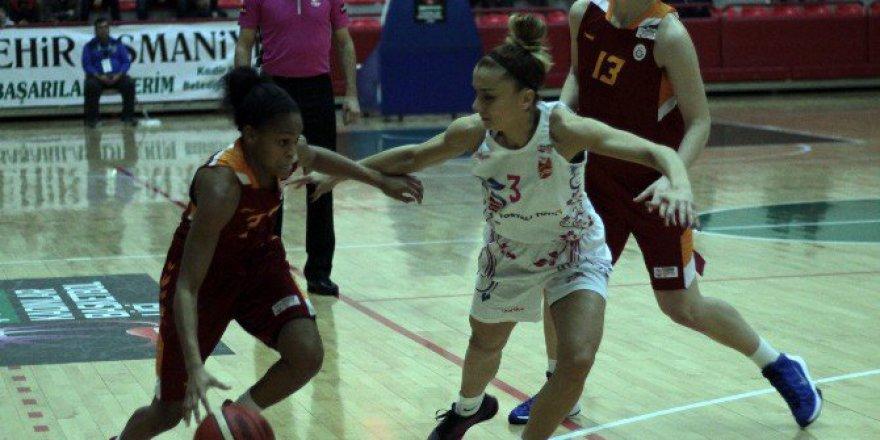 Bilyoner.com Kadınlar Basketbol Ligi; Tosyalı Toyo Osmaniye 63-96 Galatasaray