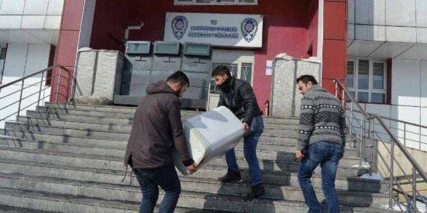 Van, Çaldıran'da Hırsızlık Çetesi Çökertildi