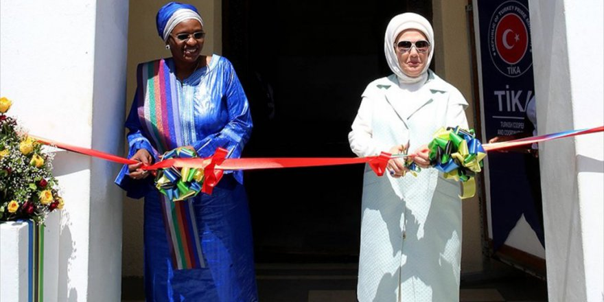 Emine Erdoğan, Tanzanya'da Tika Ofisinin Açılışını Yaptı