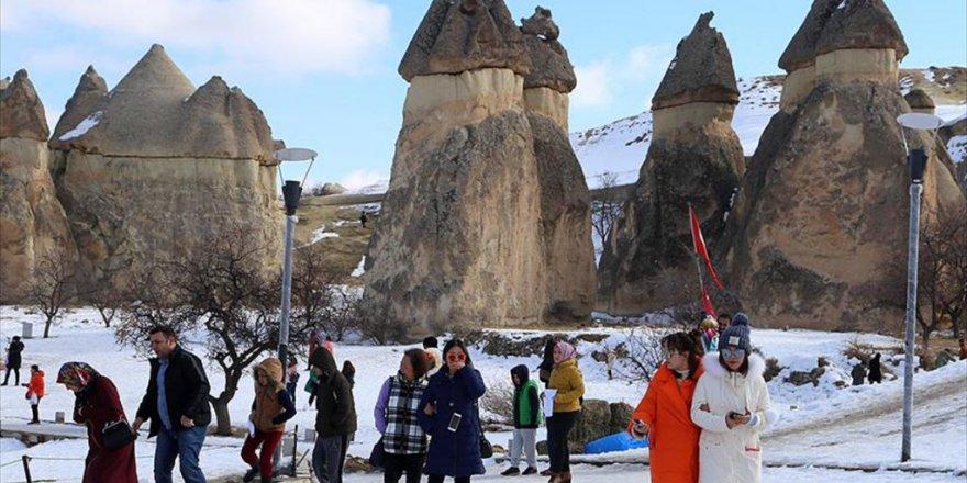 Kapadokya'daki Müzelere  Milyon 493 Bin Turist Ziyareti