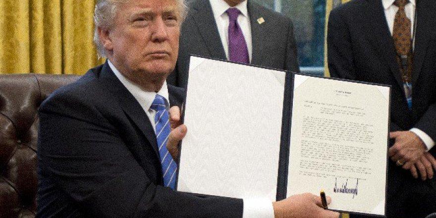 Trump'tan Trans-pasifik Ortaklığı Kararı ! Ortalıktan çekiliyorlar