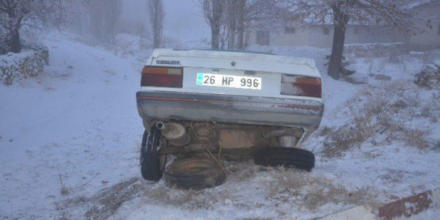 Eskişehir Günyüzü ilçesinde trafik kazası