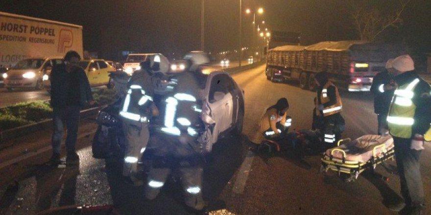 Balıkesir Bandırma'da Trafik Kazası : 3 Yaralı