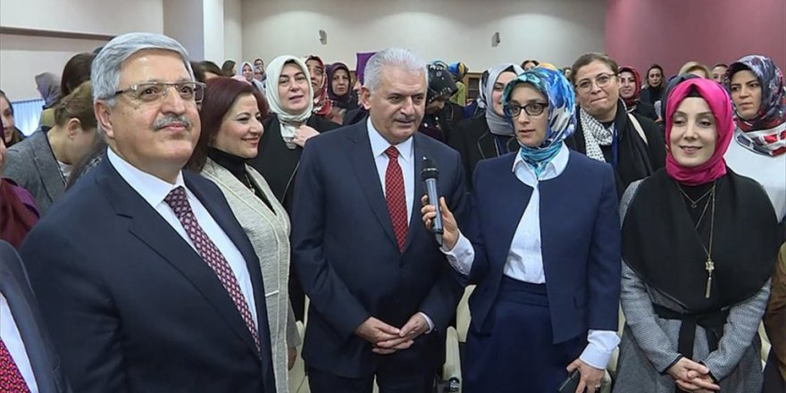Başbakan ve Bakanların EVET desteği