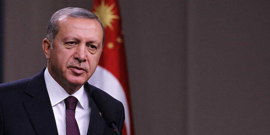 Erdoğan'dan şehit Kerem Çalışkancı'nın ailesine Başsağlığı Telgrafı