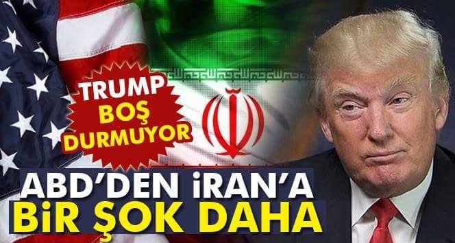 Abd'den İran'a Yaptırım