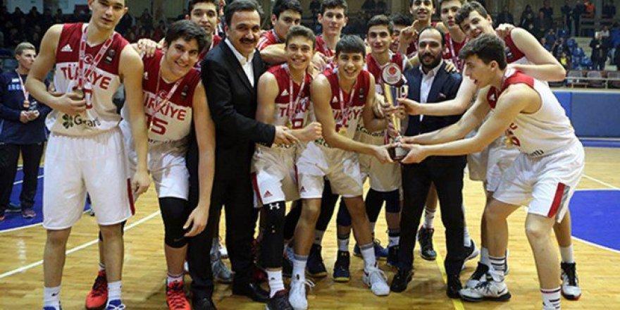 TBF Uluslararası U16 Turnuvası'nda Türkiye Şampiyon! Türkiye 87-82 Litvanya