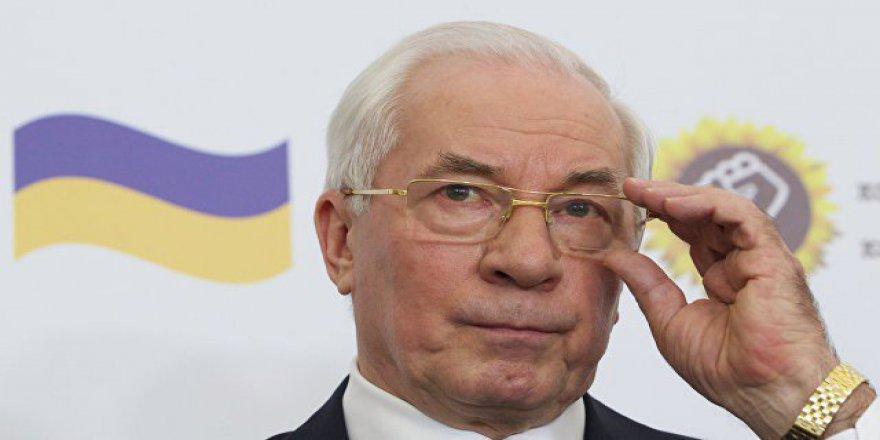 """Ukrayna Eski Başbakanı Azarov: """"Rusya, Ukrayna'nın Doğusundaki Vatandaşları Katliamdan Kurtardı"""""""