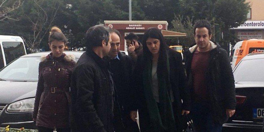 HDP'li Dilek Öcalan Atatürk Havalimanı'nda Gözaltına Alındı