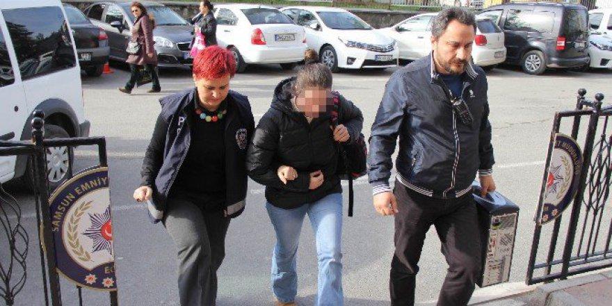 FETÖ/PDY'den Aranan Kadın Polis Samsun'da Gözaltına Alındı