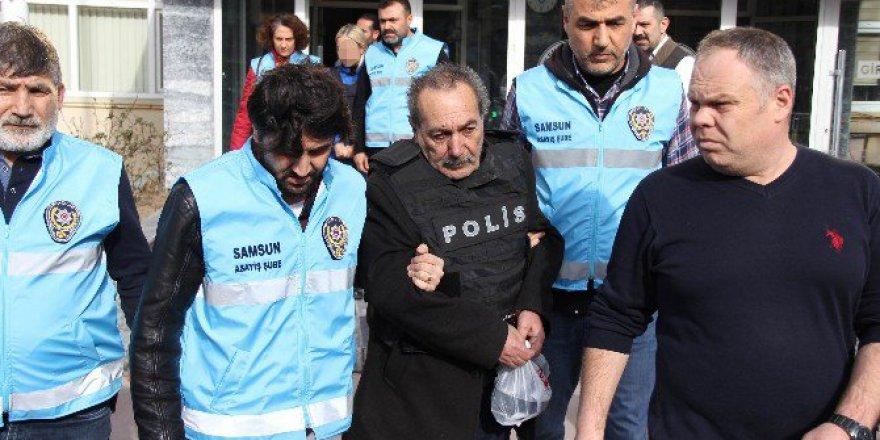 Samsun'da Damadını Öldüren Kayınpeder A.Yağız Tutuklandı
