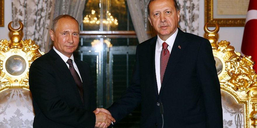 Cumhurbaşkanı Erdoğan İle Putin Telefonda Görüştü