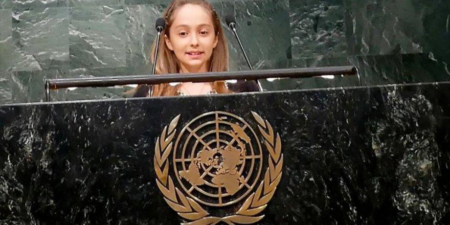 Talya Özdemir Bm Kürsüsündeki En Genç Türk oldu