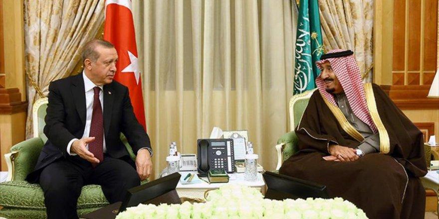 Erdoğan'dan Suudi Krala teşekkür