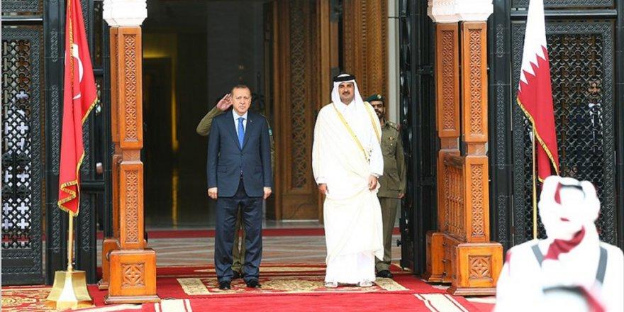 Erdoğan'ın Katar ziyareti Körfez basınında